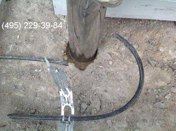 Обрыв греющего кабеля в системе антиобледенения