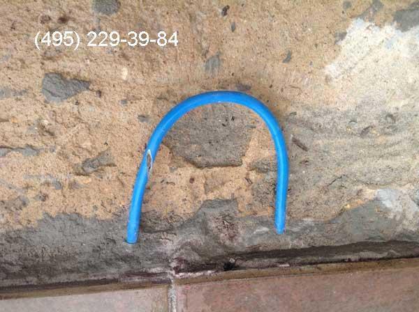 Найден порез греющего кабеля